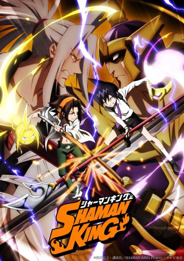 Shaman King 2021 anime poster