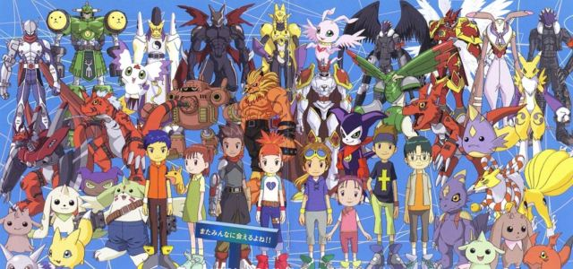 Digimon illustration
