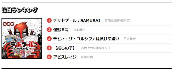 Deadpool manga site screenshot