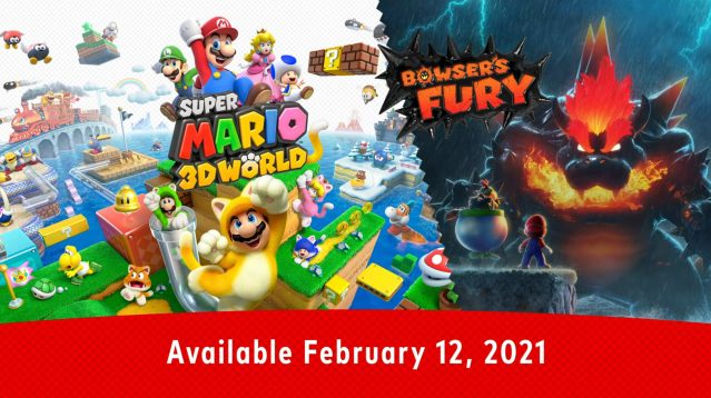 Super Mario 3D World Game Announcement Visual