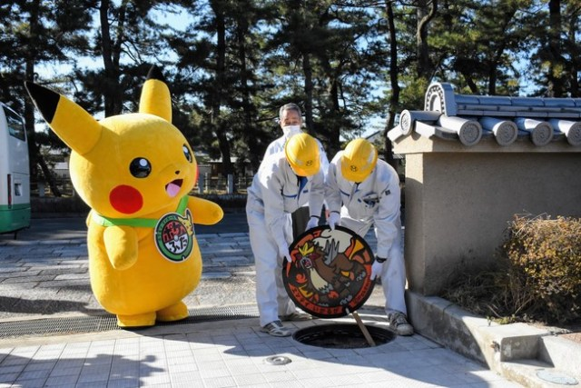 New Pokémon Manhole Covers to be Installed in Nara Prefecture