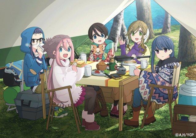 Yuru Camp Cast of Characters