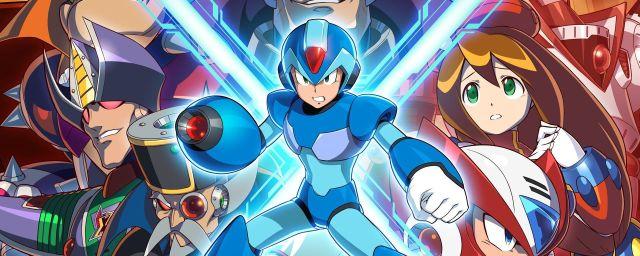 Mega Man X Game Visual