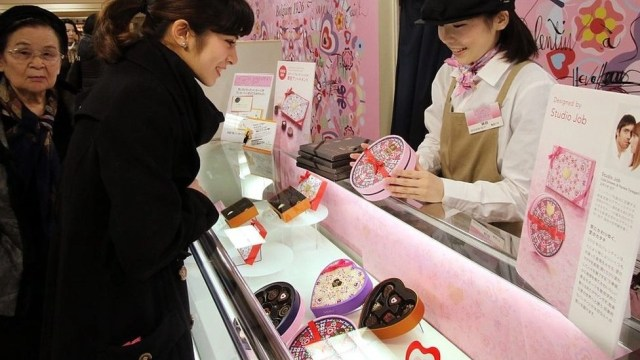 Valentine's Day Shopping in Japan