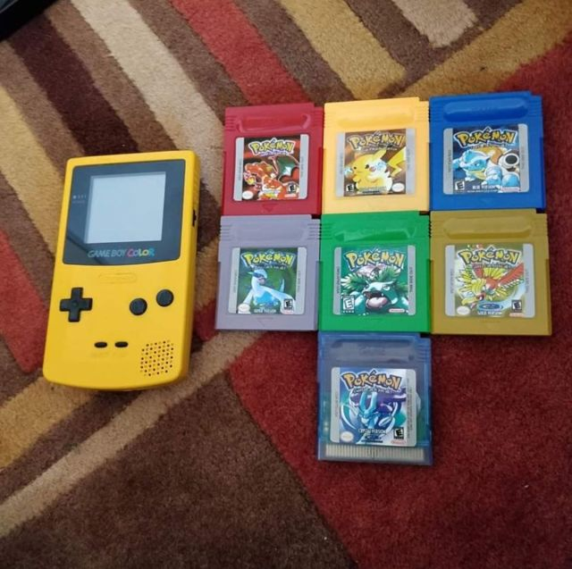 Game Boy and Pokemon Games