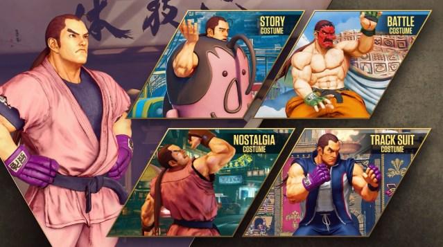 Street Fighter, Dan Hibiki intro video screenshot