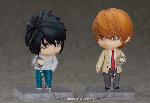 Nendoroids Light and L from Death Note
