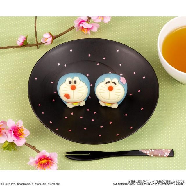 Doraemon wagashi Lawson