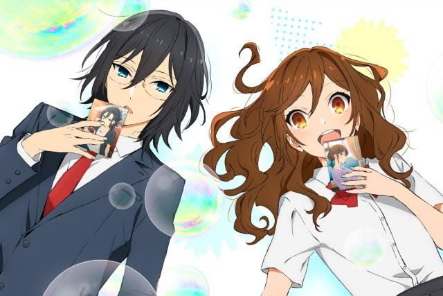 Hori and Miyakura from Horimiya manga