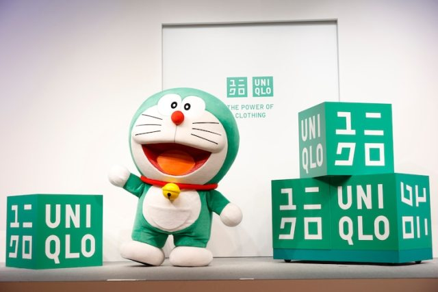 Green Doraemon Uniqlo