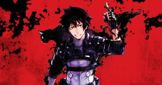 Shonen Jump manga Black Torch