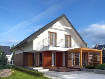 Проекты дачных домов с мансардой