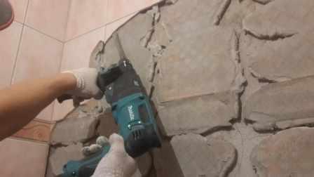 выровнять стены под плитку