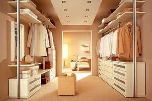 планирование гардеробных комнат