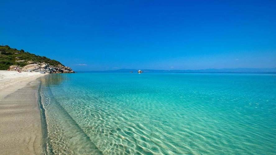 Гърция, Халкидики – опияняваща комбинация от синьо и зелено