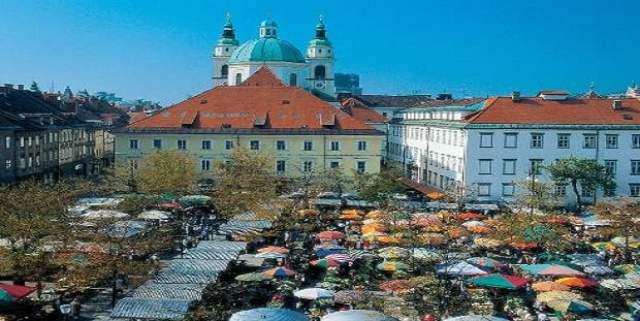 Площад Стари търг в Любляна
