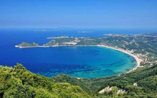 Къде се намира остров Корфу?