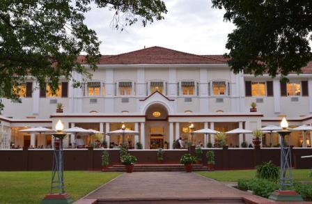 Victoria Falls Hotel, Zimbabve