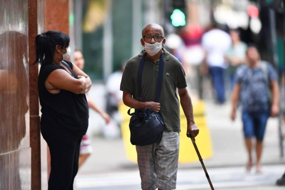 máscara coronavírus ( COVID - 19 ) , Centro Belo Horizonte