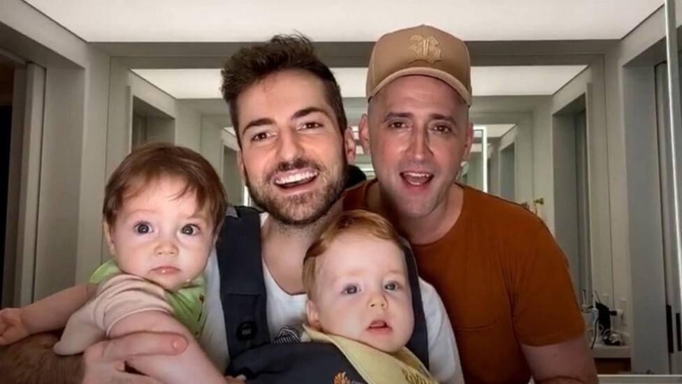 Thales Bretas, marido de Paulo Gustavo, compartilha vídeo com filhos  brincando | O TEMPO