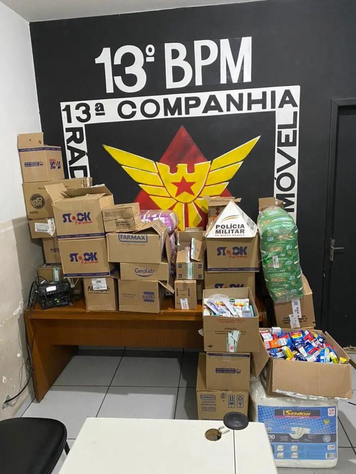 Dois homens são presos após roubo de carga de remédios no bairro Lagoa, em  BH | SUPER NOTICIA