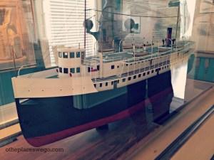 Kenosha Southport Museum - SS Wisconsin Replica