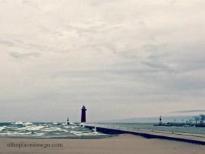 North Pier Lighthouse Kenosha