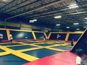 SkyHigh Naperville - Main jump area