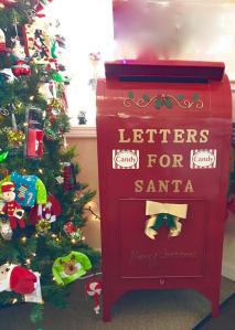 Around The Corner Candy - Santa Mailbox