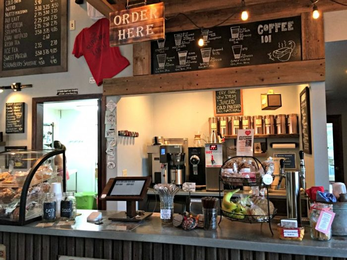 Coffee Mill, a great coffee shop in Fontana, just down the street from The Abbey Resort.