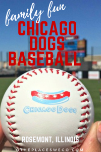 Family fun at a Chicago Dogs baseball game at Impact Field Rosemont Illinois