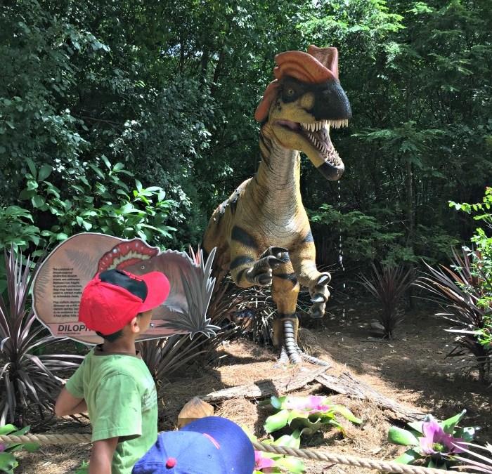 Dinosaurs Invade Milwaukee County Zoo