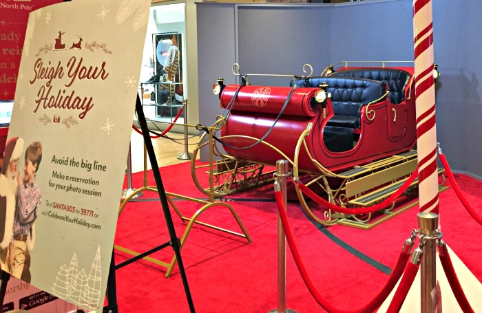Catch Santa at Water Tower Place and Go on a Virtual Sleigh Ride