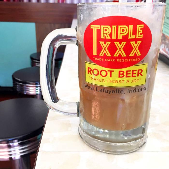 Two Delicious Stops in Lafayette-West Lafayette Indiana including Triple XXX Family Restaurant and Igloo Frozen Custard.