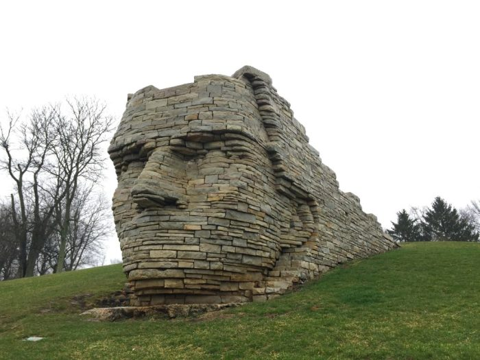 Family fun in Dublin, Ohio located just outside Columbus. Families will find waterfalls, more than 70 sculptures, a Irish Fairy Door Trail, yummy food, and more!