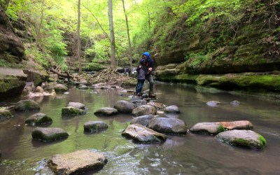 Exploring Matthiessen State Park with the Family