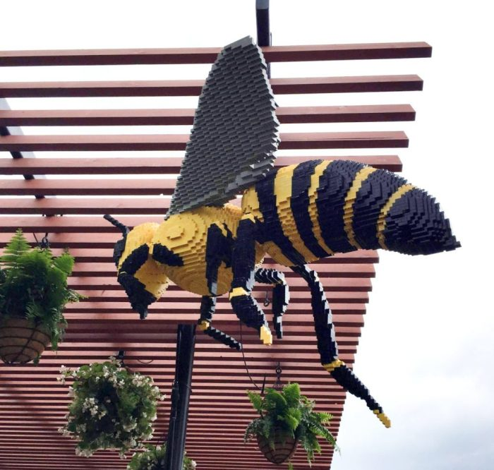 A family fun experience visiting Nature Connects: Art with LEGO Bricks at Morton Arboretum
