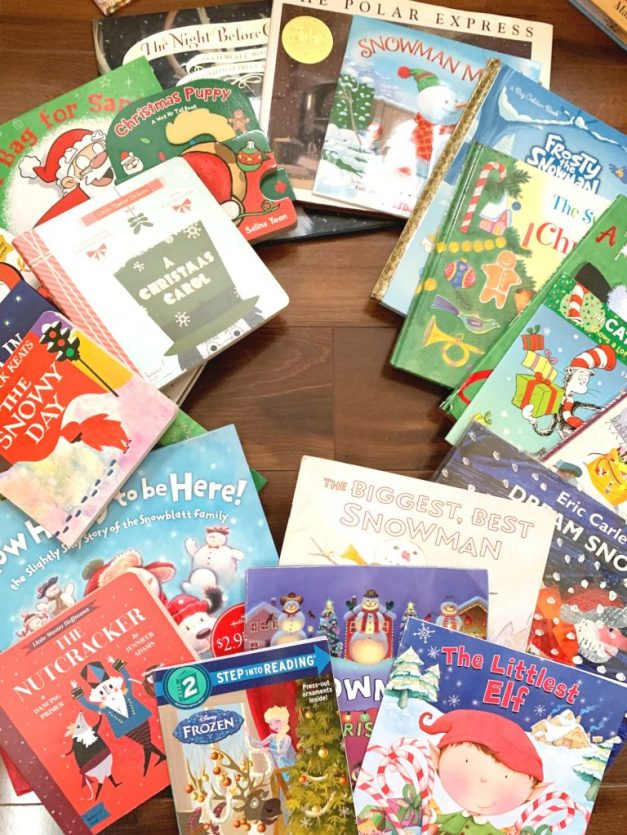 One of our great family traditions to countdown to Christmas is reading holiday books! To make it even special, I wrap the books and the kids can choose one each day. How fun!