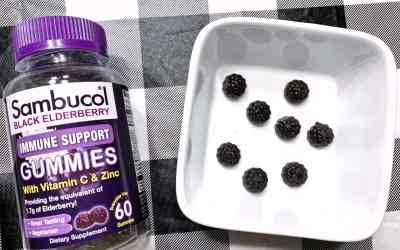 Boosting our Health with Sambucol Black Elderberry Gummies