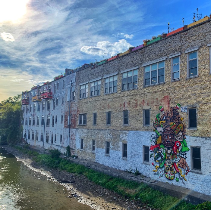 Take this self-guided art walk through Downtown Aurora to search for murals and more. A handy map our our tour is included too!