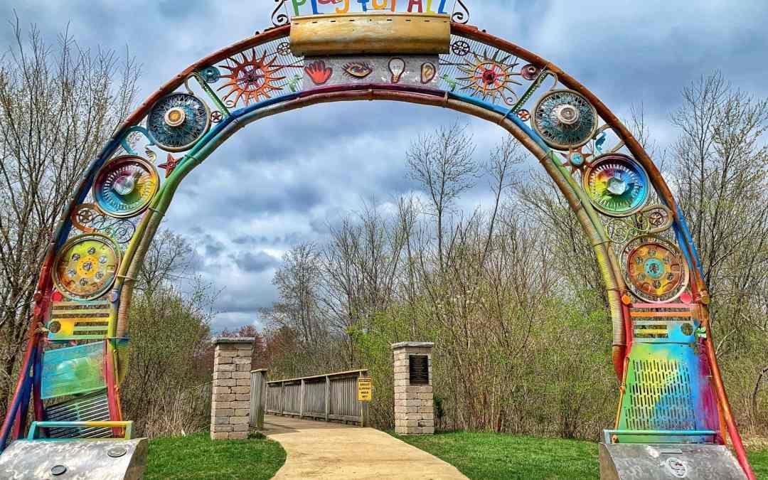 Parks We GO: Sensory Garden Playground in Lisle