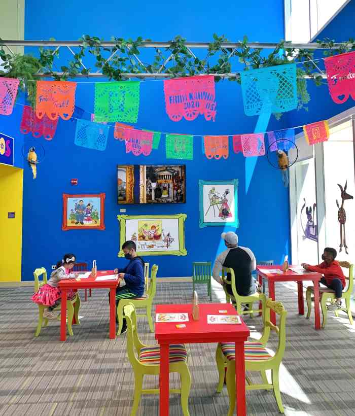 Frida Kahlo has come to Chicago! See Frida Kahlo: Timeless and view 26 works of art, enjoy the kids area, and learn about Frida's life.