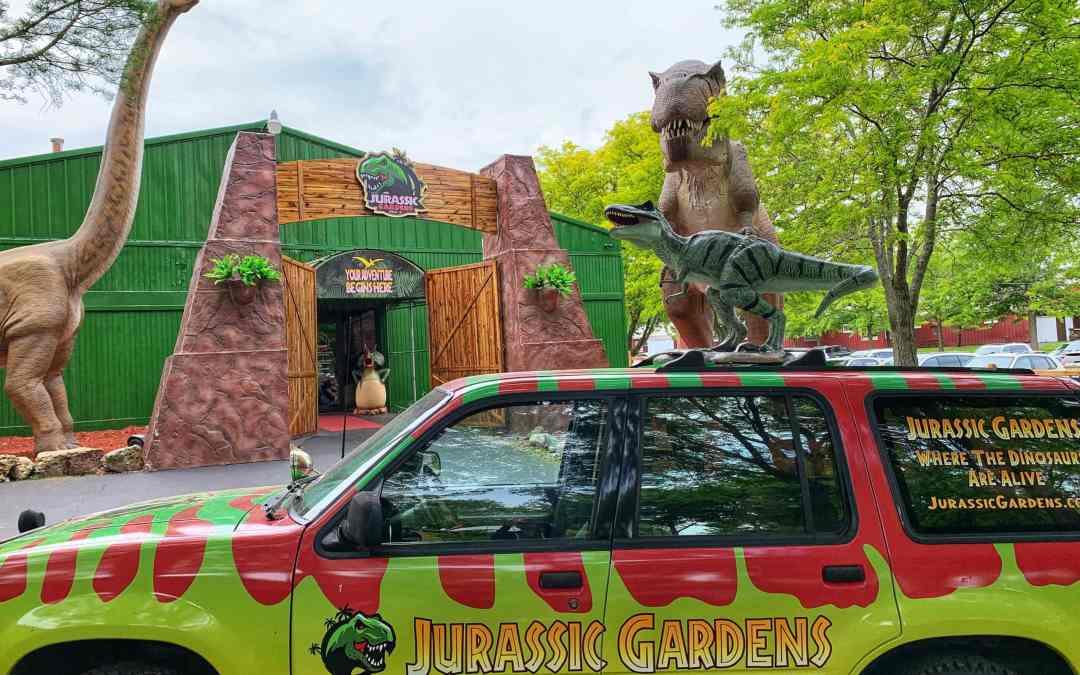 Jurassic Gardens at Volo Auto Museum