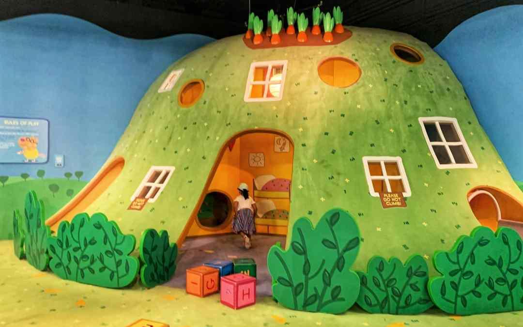 Kiddie Fun at Peppa Pig World of Play in Schaumburg