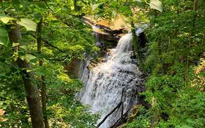 A Day Hiking at Cuyahoga Valley National Park with Kids