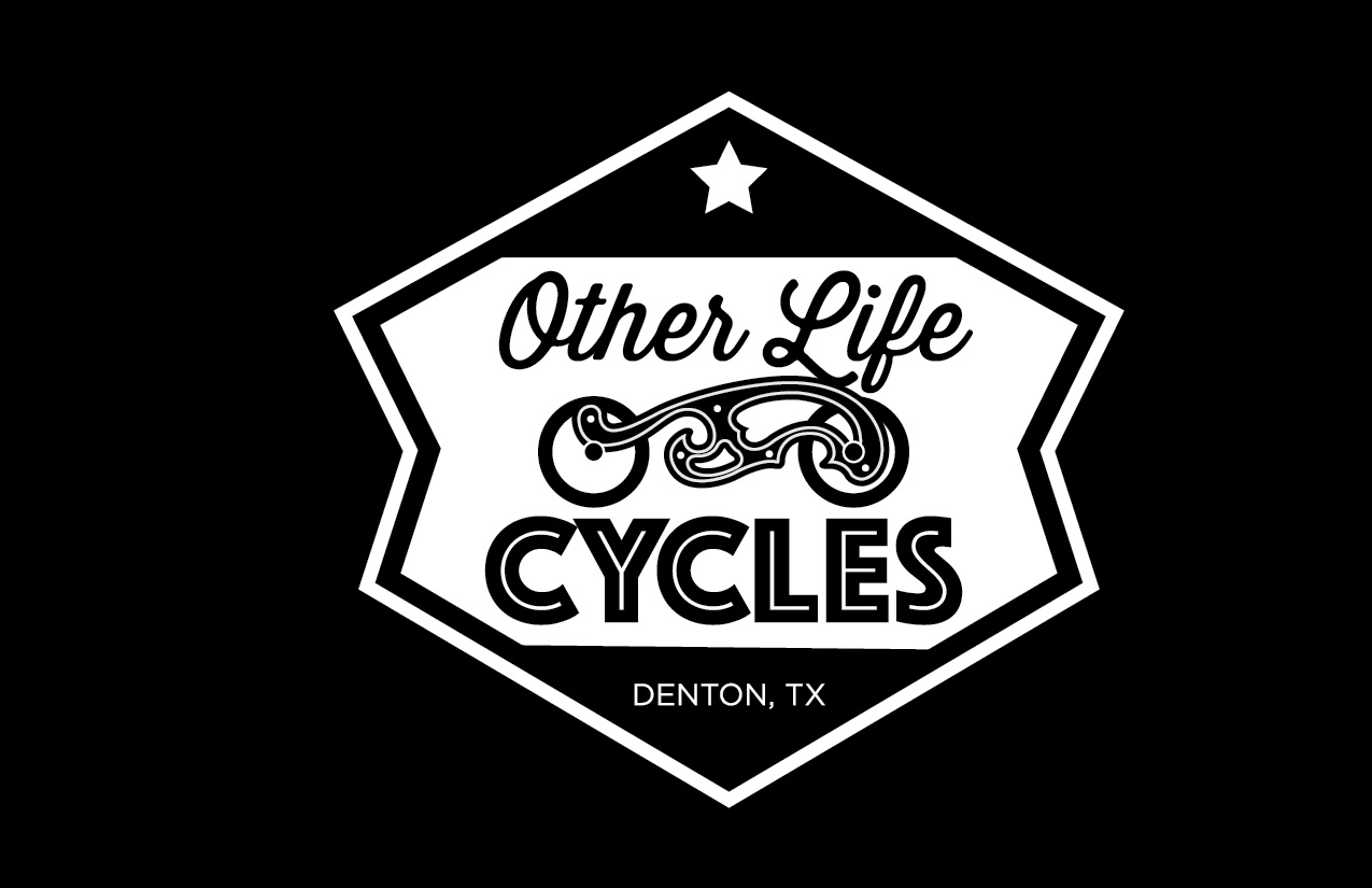 Other Life Cycles Label logo t-shirt