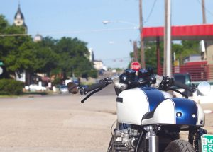 """Honda cafe racer Other Life Cycles CB550f """"fbomb"""" Build just south of the Denton, texas square"""