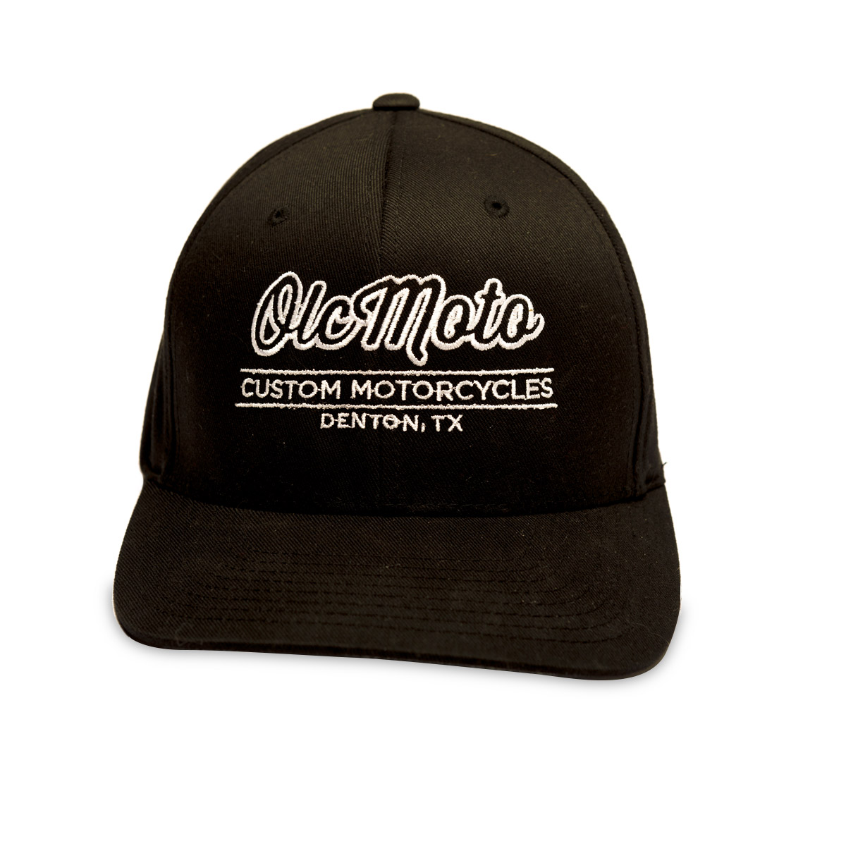 OLCMOTO Flexfit black hat - otherlifecycles