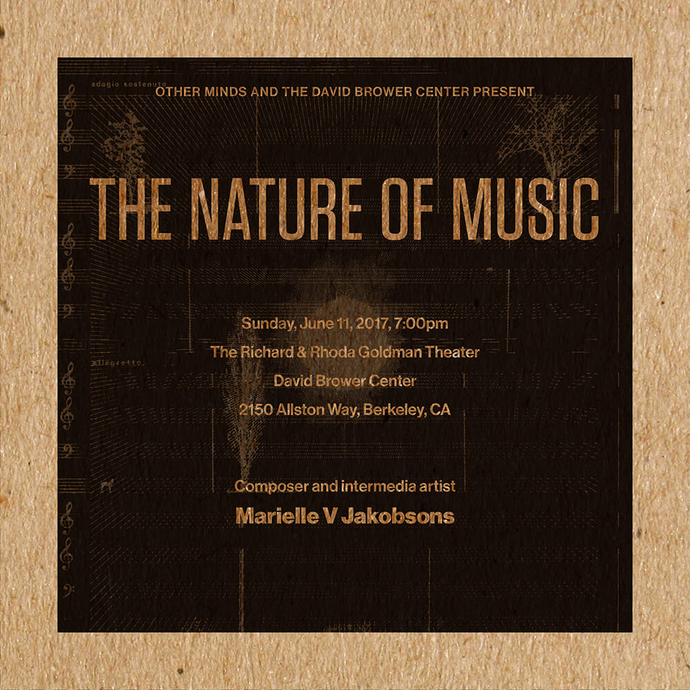 Marielle V Jakobsons Program Cover