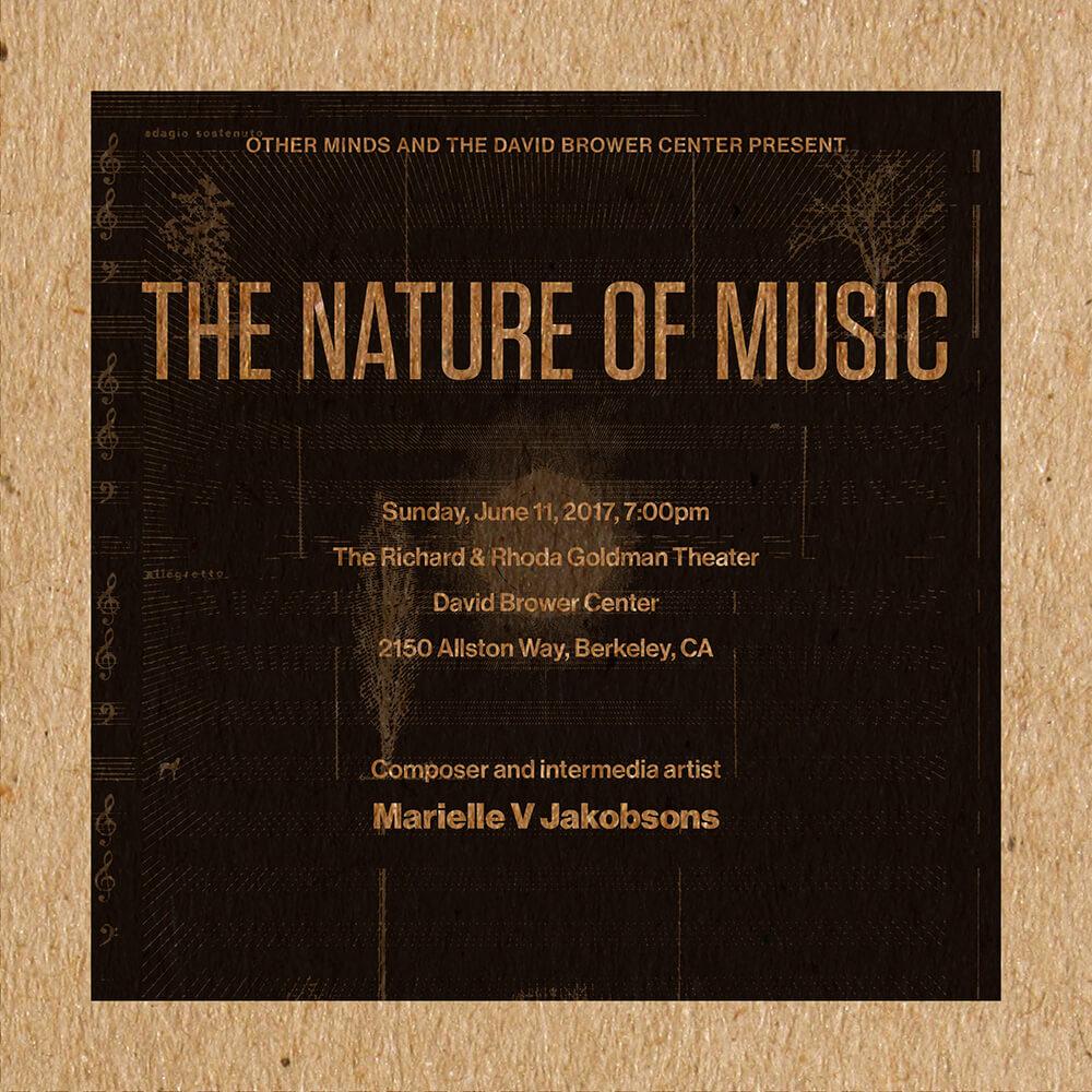 Marielle V Jakobsons Program Cover